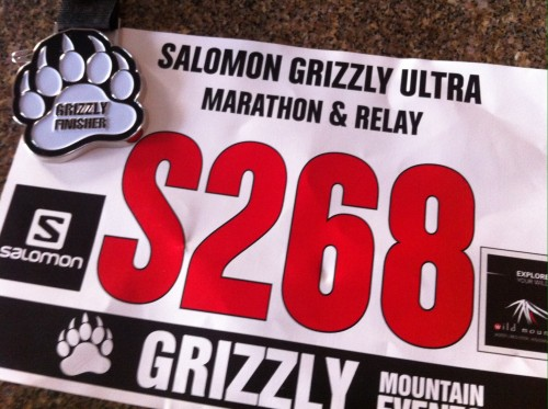 Pic: Grizzly Ultra Finisher!