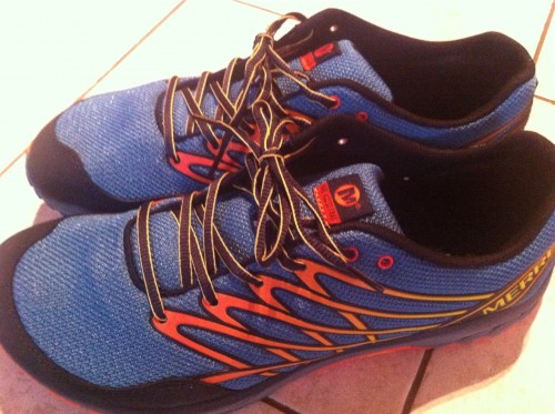 Pic: New @merrelloutside shoes! Bare...